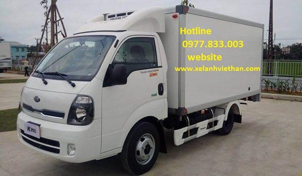 Cho thuê xe tải đông lạnh Hà Nội đi các tỉnh