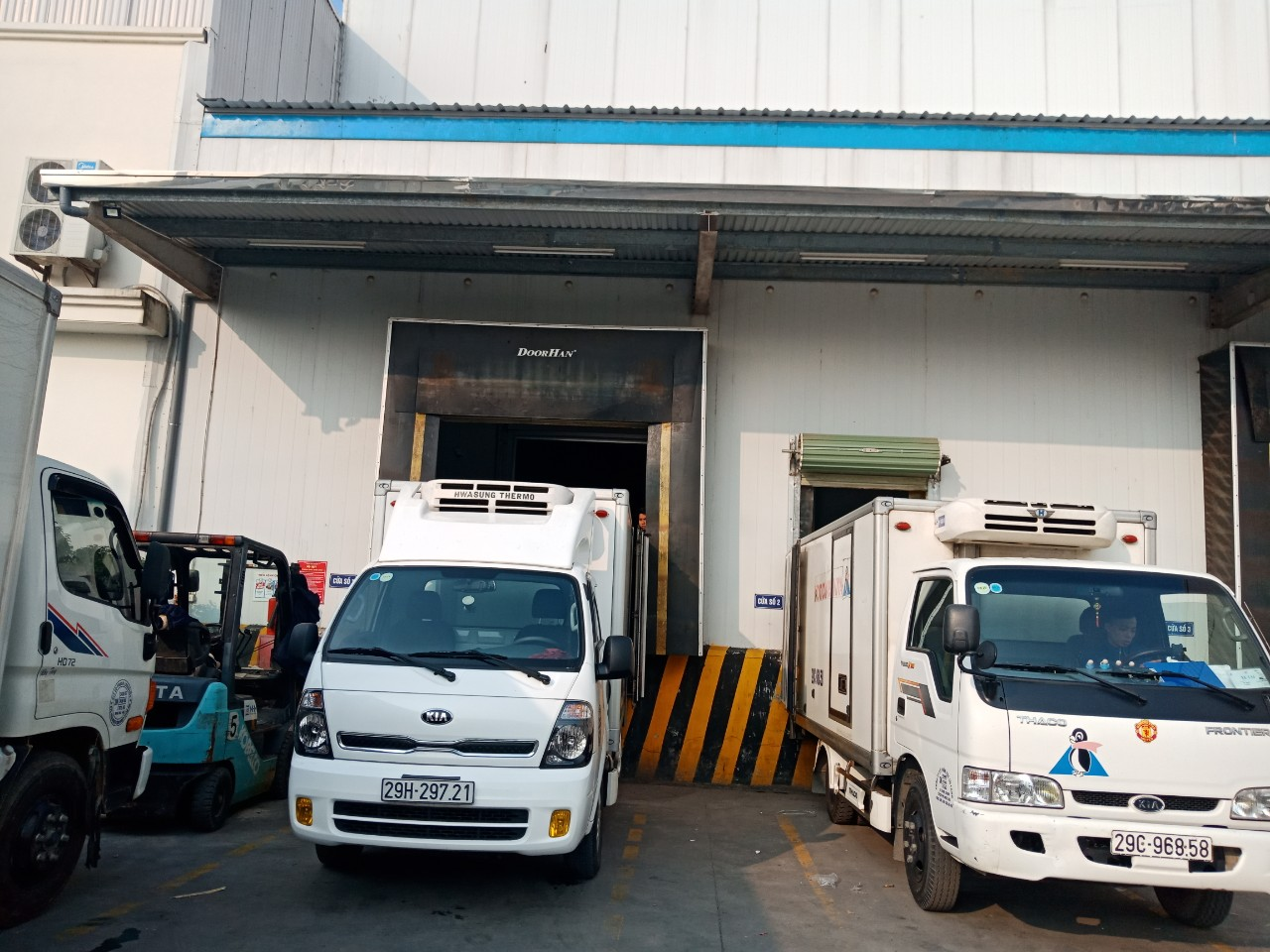 Cho thuê xe tải đông lạnh tại Thái Bình