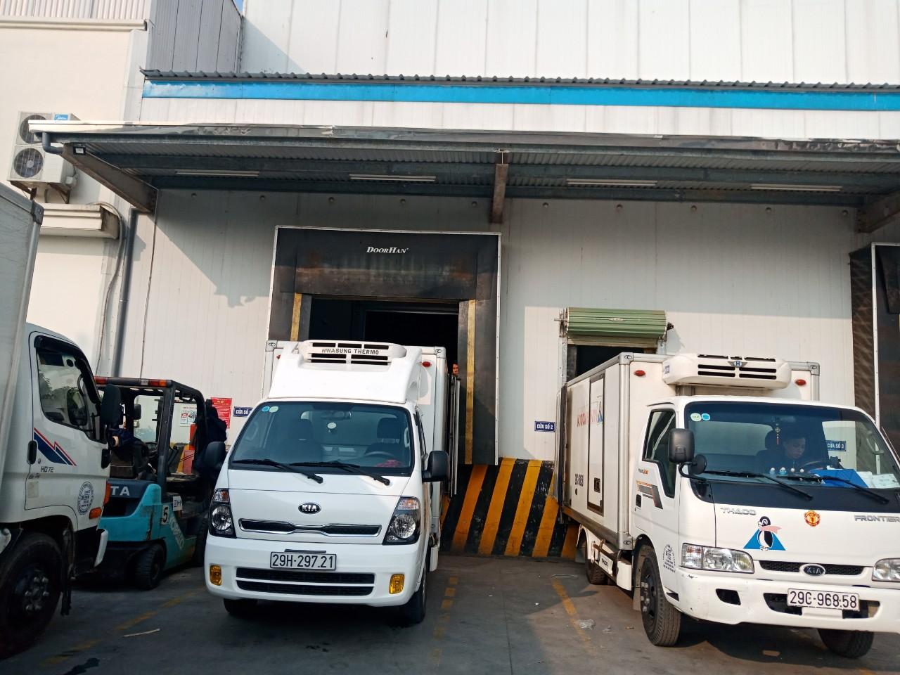 Cho thuê xe đông lạnh tại Vĩnh Phúc
