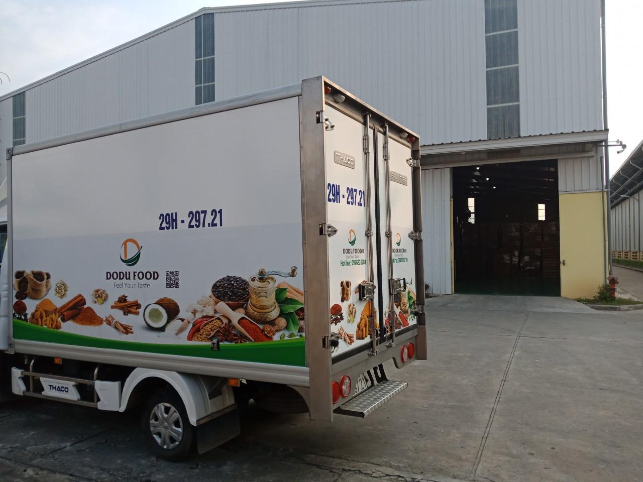 Cho thuê xe tải đông lạnh tại Bắc Giang